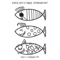 come disegnare un pesce