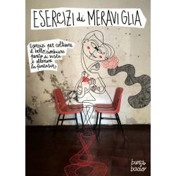 Esercizi di Meraviglia | Activity book di scrittura, disegno e collage | Burabacio